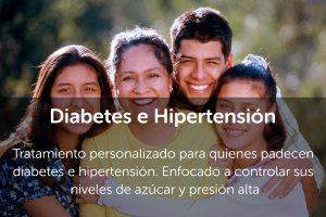 Diabetes e Hioertensión